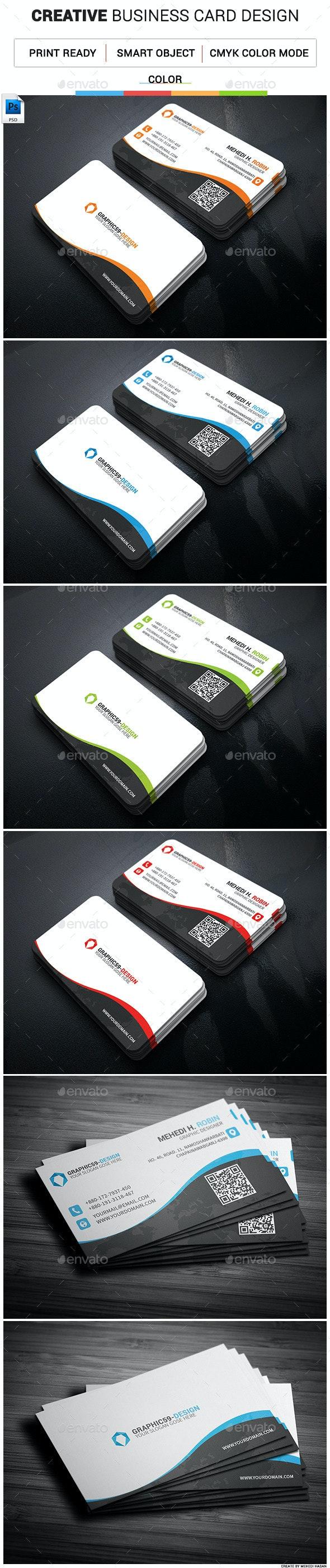 Creative Business Card 08 - Creative Business Cards