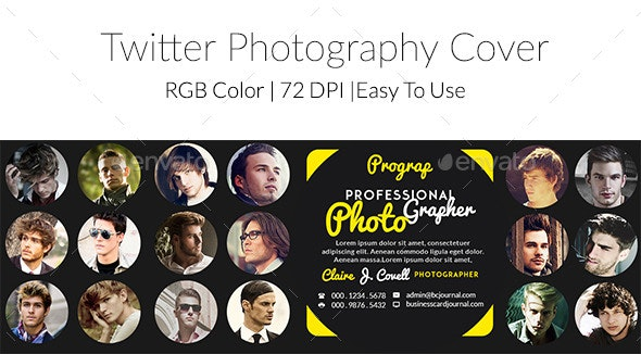 Twitter Photography Cover  - Twitter Social Media