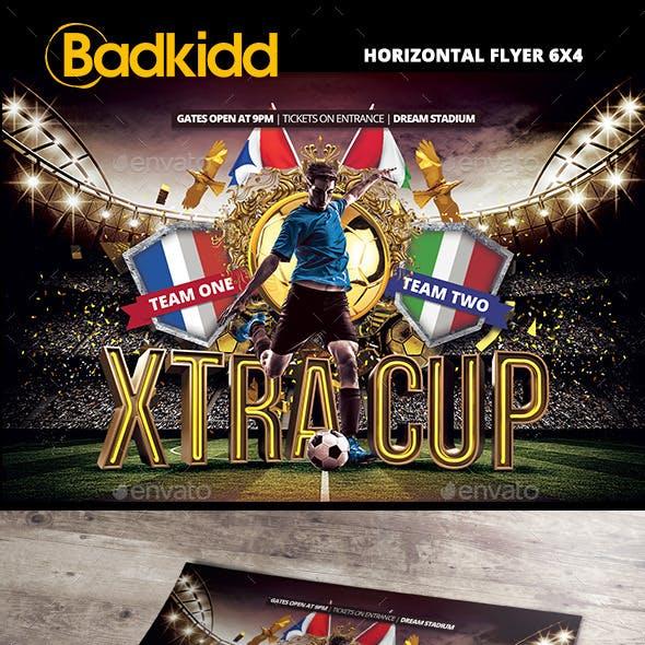 Soccer Horizontal Flyer