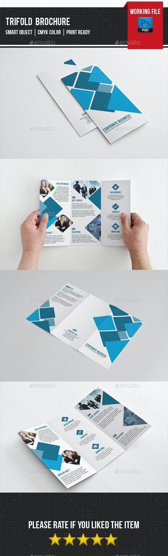 Creative Trifold Brochure-V238 - Corporate Brochures