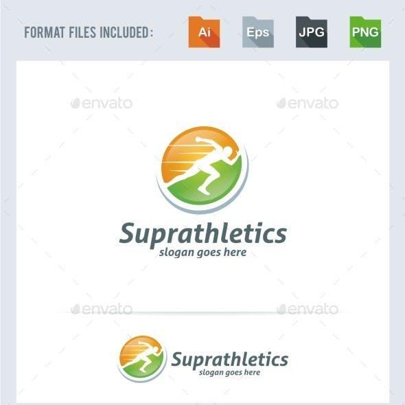 Athletics - Running Man Logo Template