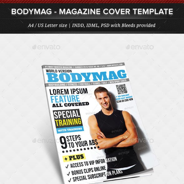 BodyMag - Multipurpose Magazine Cover Template