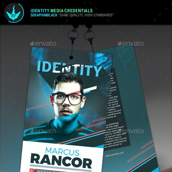 Identity Media Credentials Template