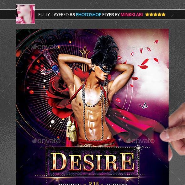 Desire Poster/Flyer