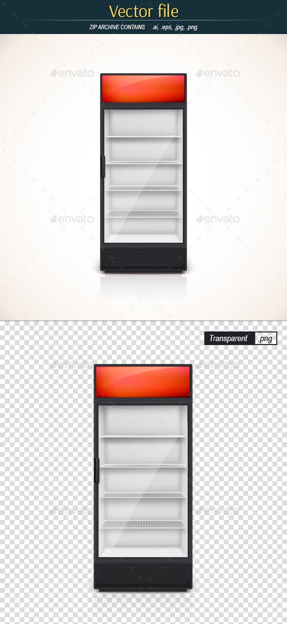 Empty Freezer - Man-made Objects Objects