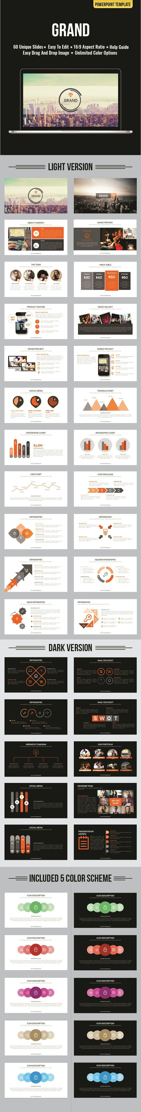 Grand PowerPoint - Abstract PowerPoint Templates