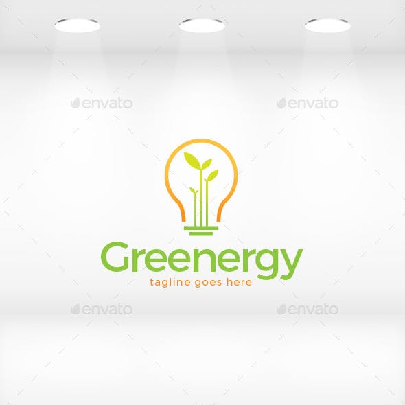 Greenergy (Green Energy) Logo