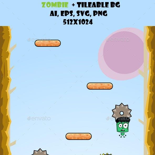 Zombie + Vertical BG