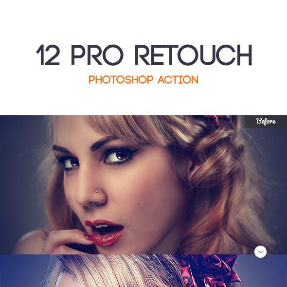 12 Pro Retouching Action