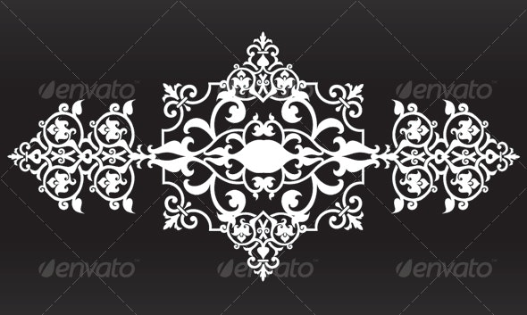Islamic Ornament  -  Ferforge - Miscellaneous Vectors