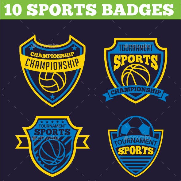 10 Sports Badges
