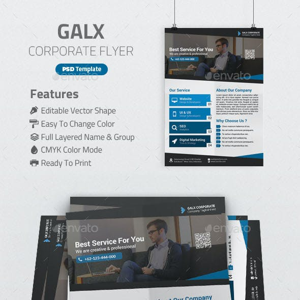 Galx Corporate Flyer