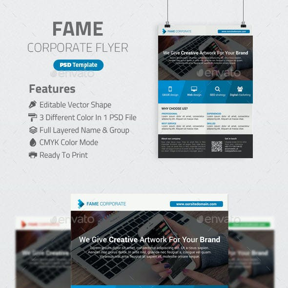 Fame Corporate Flyer