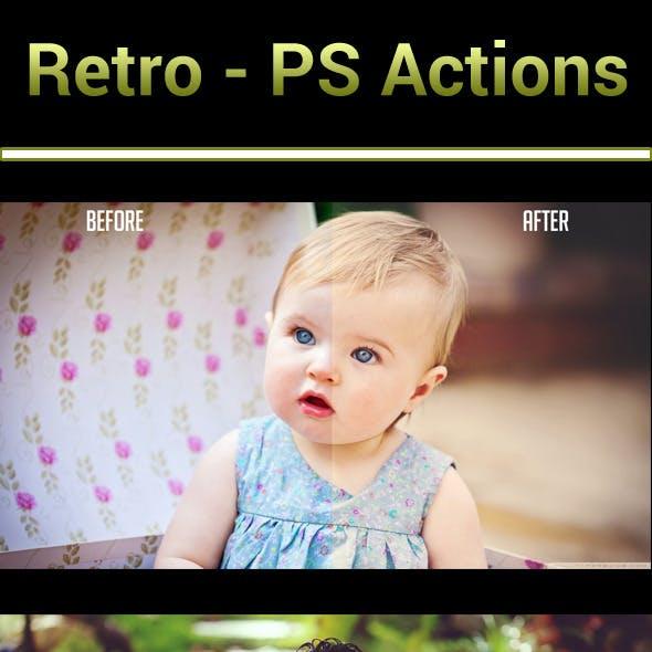 Retro - PS Actions