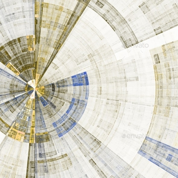 Abstract Radial Background - Abstract Backgrounds