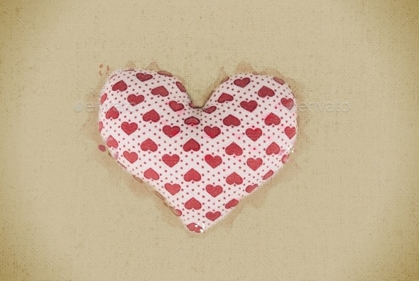 Heart On Wood - Miscellaneous Backgrounds