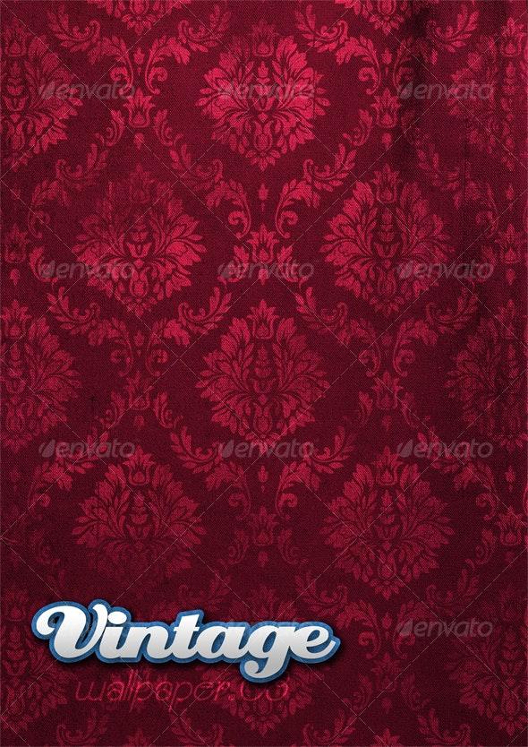 Vintage Wallpaper .03 - Patterns Backgrounds