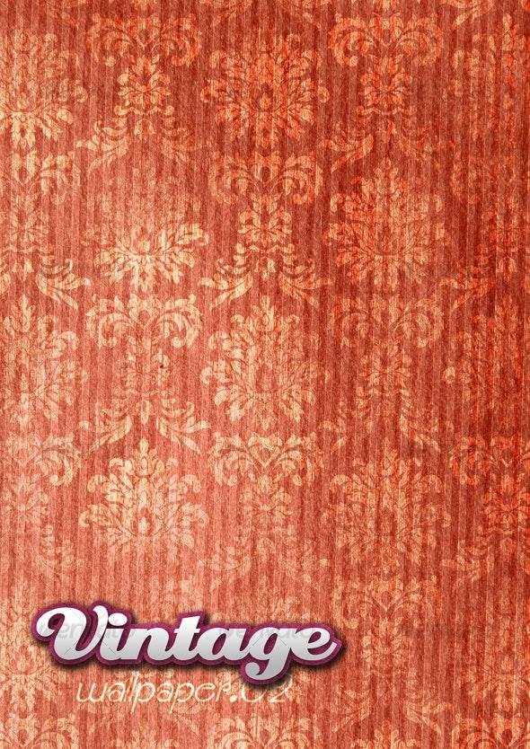 Vintage Wallpaper .02 - Patterns Backgrounds