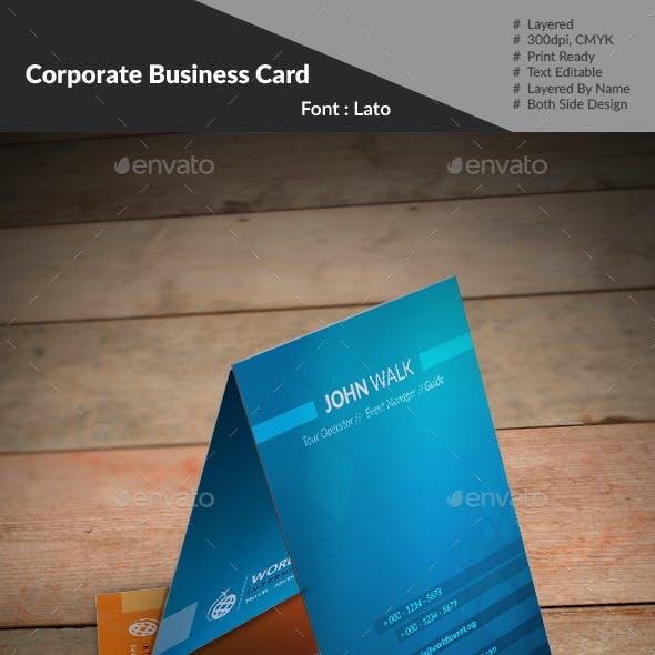 World Tour Business Card :