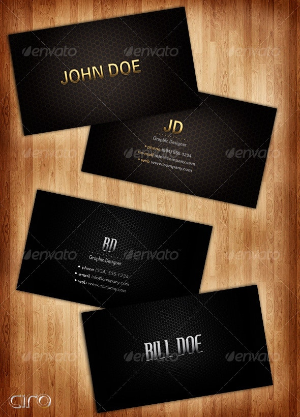Elegant Gold Business Card - Creative Business Cards