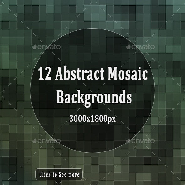 Abstract Mosaic Backgrounds - Backgrounds Graphics