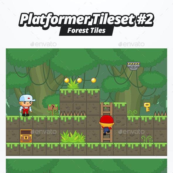 Platformer Tileset #2 - Forest