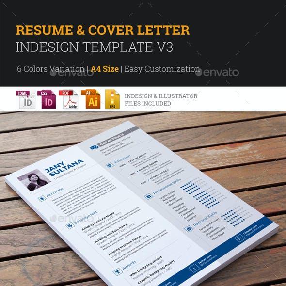 Resume & Cover Letter Template v3