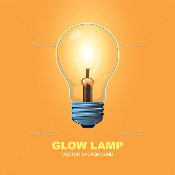Glow Lamp Background