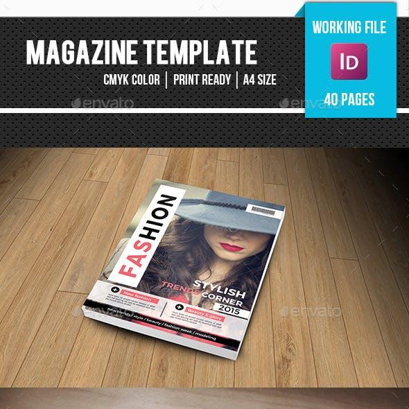 Fashion Magazine Template-v13