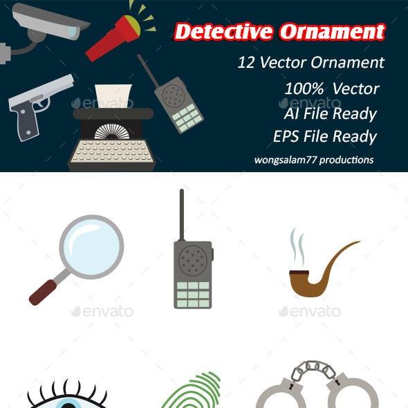 Detective Ornaments