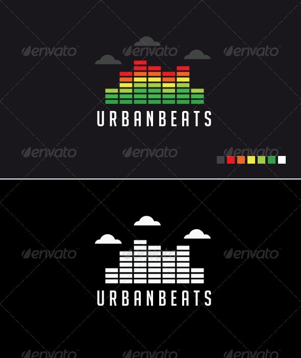 Urban Beats - Logo Template - Buildings Logo Templates