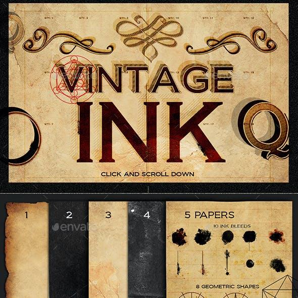 Vintage Ink Styles