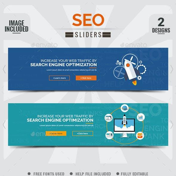 SEO Sliders - 2 Designs