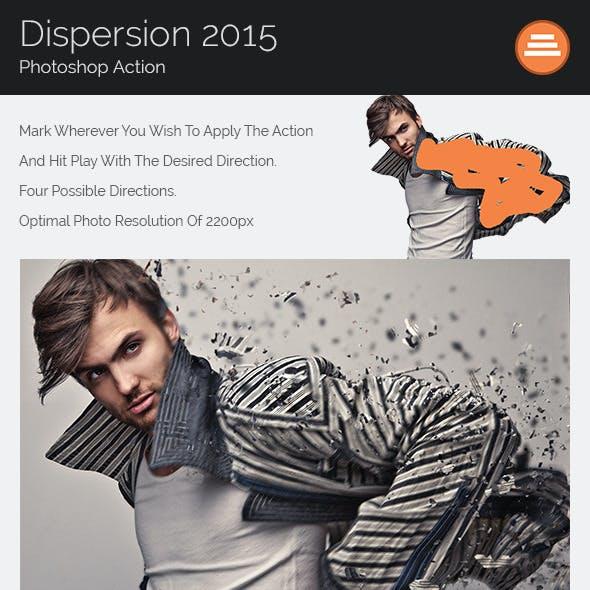 Dispersion Effect - Photoshop Action