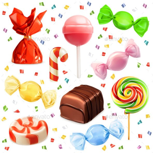 Candies Icons