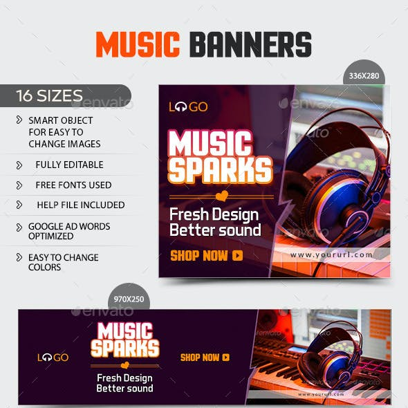 Music Banners