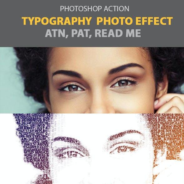 Typography Photo Effect