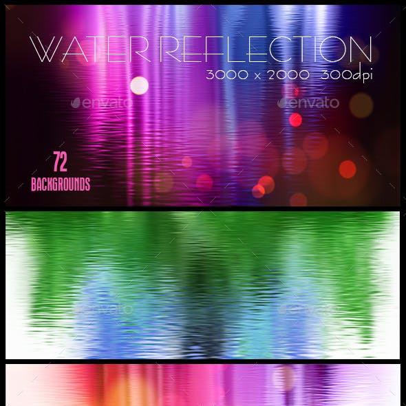 72 Water Reflection Backgrouns