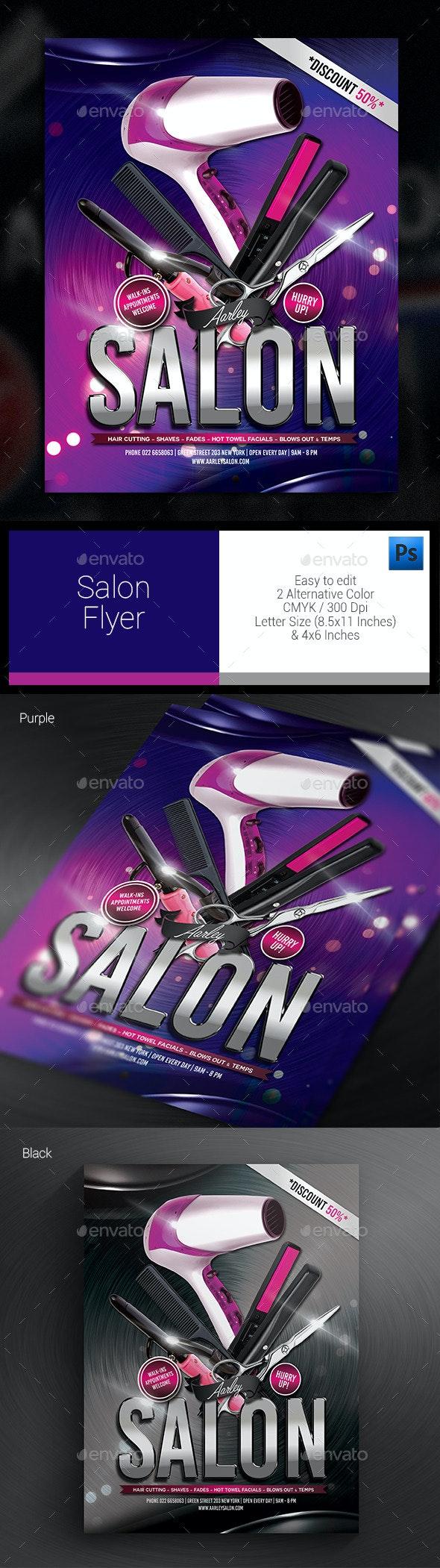 Salon Flyer - Corporate Flyers