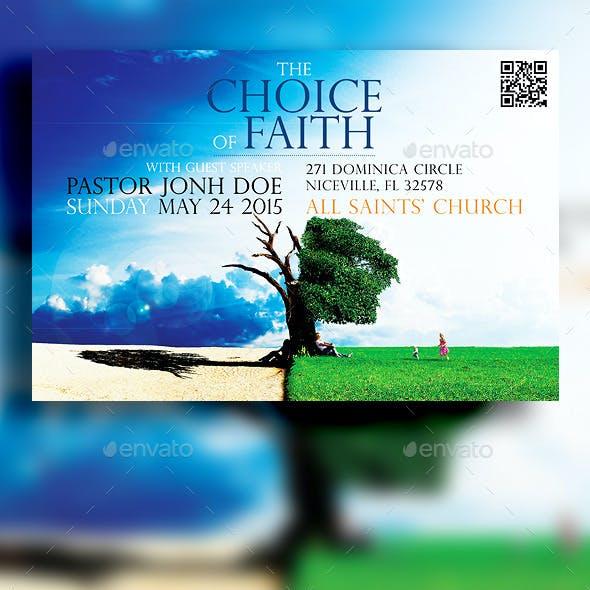 The Choice Of Faith