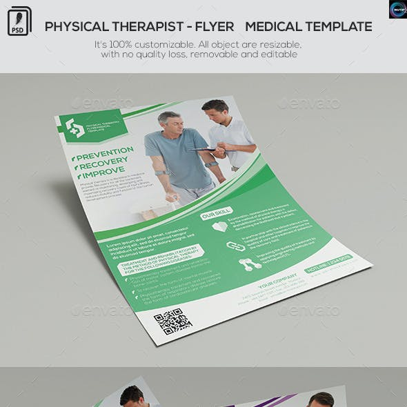 Physical Therapist - Flyer Medical Template
