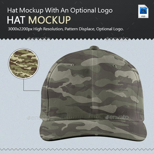 Professional Hat Mock-up