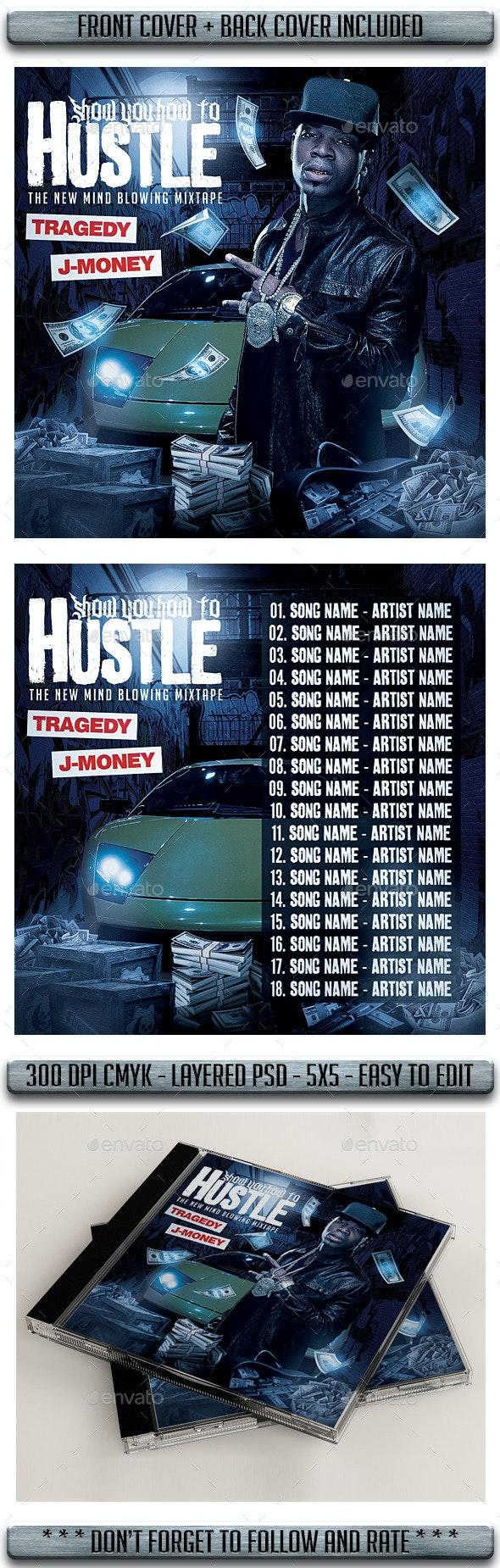 Rap Mixtape Cover - CD & DVD Artwork Print Templates