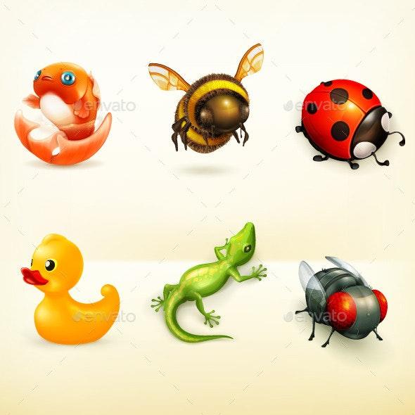 Animal Cartoon Characters - Animals Characters