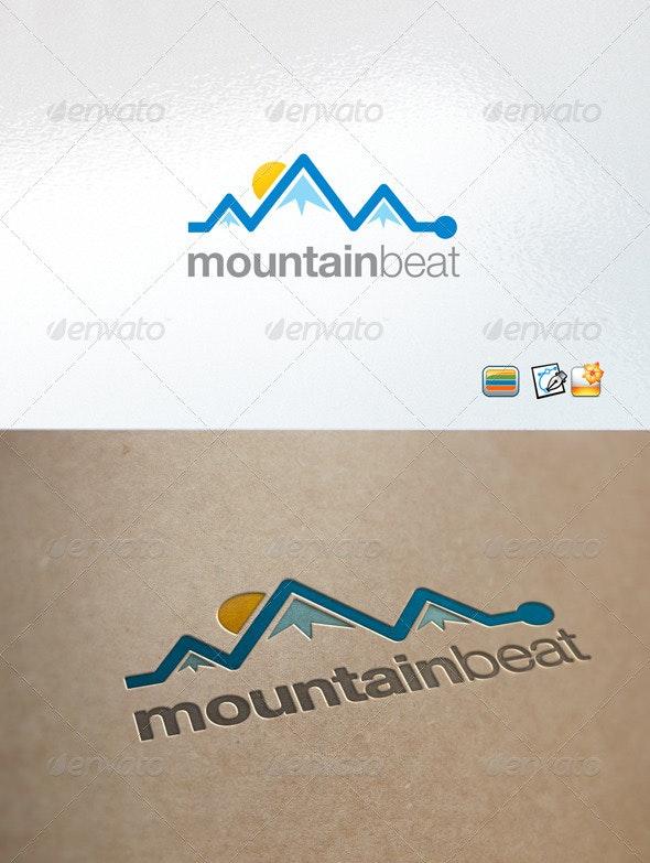 mountain template - Nature Logo Templates