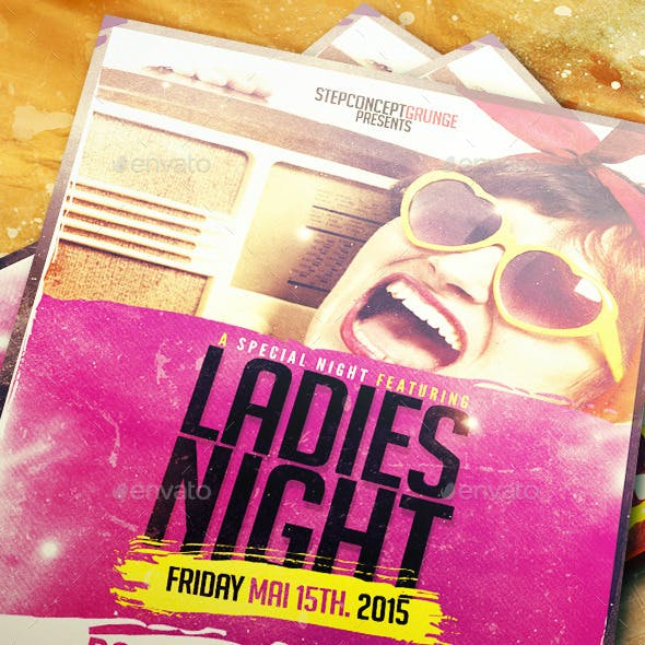 Ladies Night Template