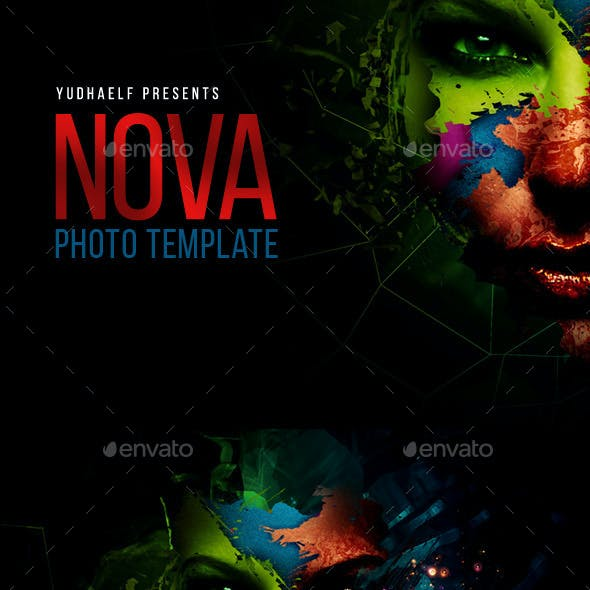 Nova - Artistic Photo Template