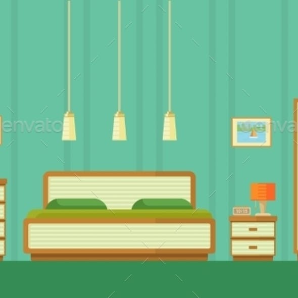 Illustration of Bedroom