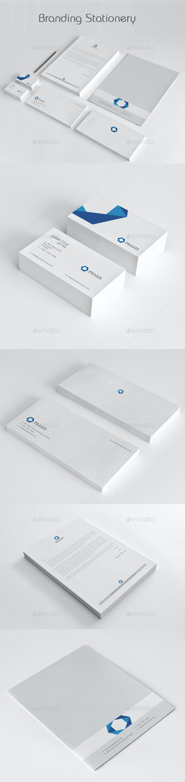 Branding Stationery - Stationery Print Templates