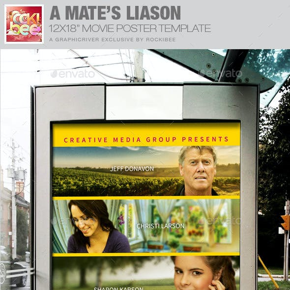 A Mate's Liaison Movie Poster Template